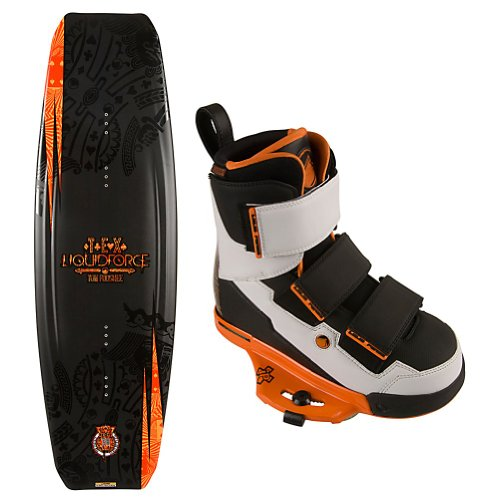 Image of Liquid Force Tex Wakeboard Package Wakeboard With Bindings (B0080E7E20)