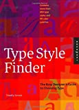 img - for Type Style Finder: The Busy Designer's Guide to Type book / textbook / text book
