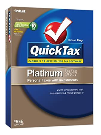 QuickTax 2007 Platinum [OLD VERSION]