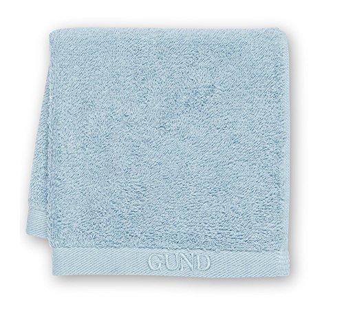 GUND Bear Essential Ringspun Face Towel, Peek A Blue, 12'' By 12'' - 1