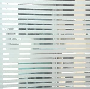 Strips colored glass