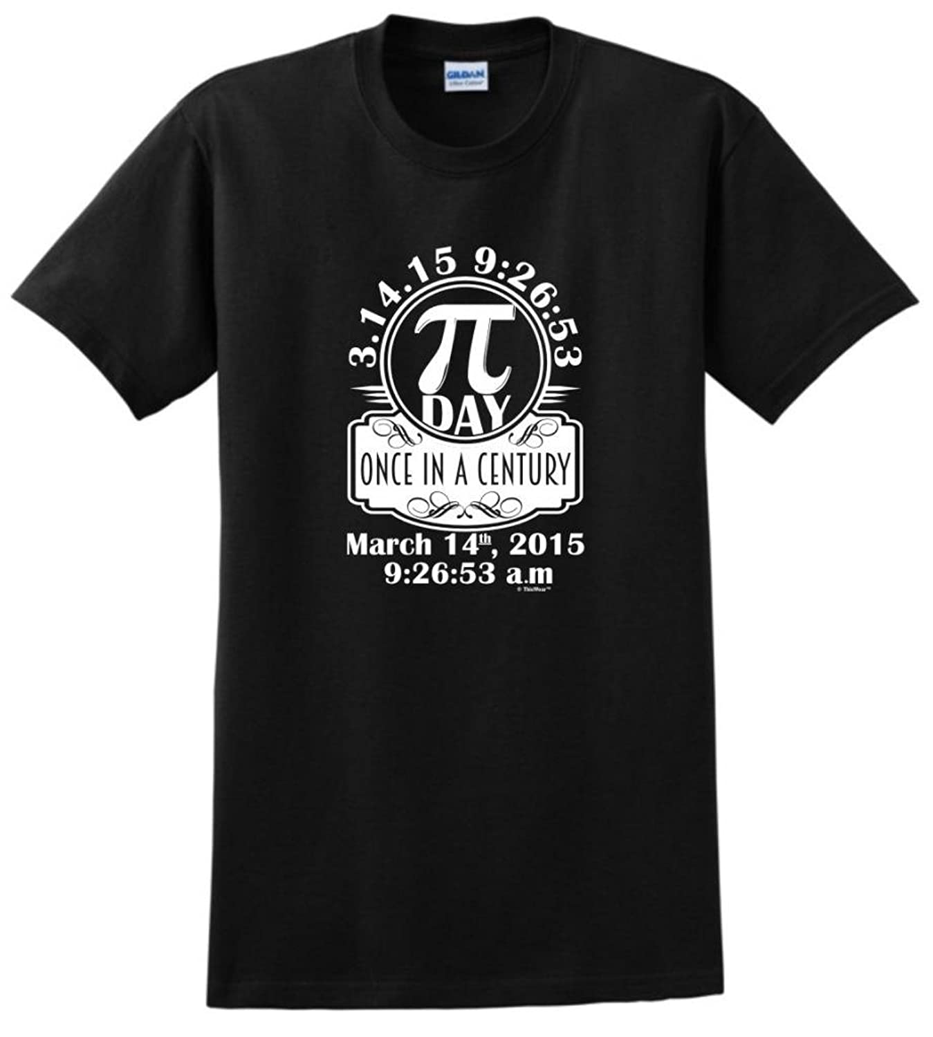 Pi Day Once in a Century T-Shirt