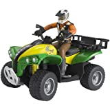Bruder Quad with Driver