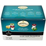 Twinings Variety Sampler, 10 K cups total. English Breakfast, Earl Grey, Green Tea, Chai, and Camomile!