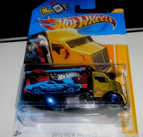 2011 HOT WHEELS HIGHWAY HAULER 2 45/247 45 of 50 in series mack truck - 1