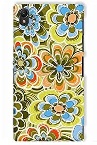 IndiaRangDe Hard Back Cover FOR Sony Xperia Z3