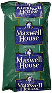 Maxwell House Decaf Ground Coffee, 8-Ounce Packages (Pack of 2)