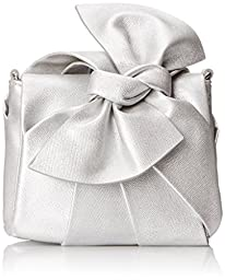 Nine West Collection Clutch, Metallic Silver, One Size