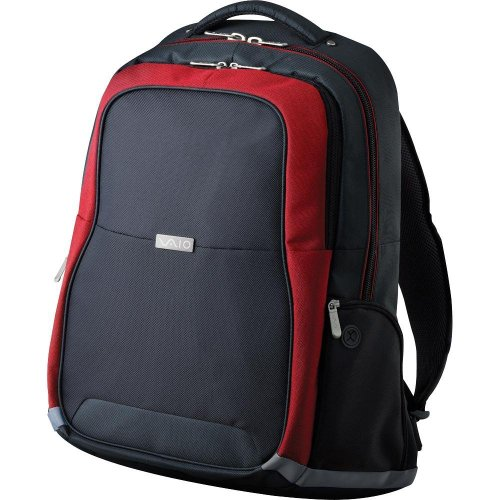 Sony Vgp-Ccp5/R Vaio Deluxe Backpack For Aw Series (Red)