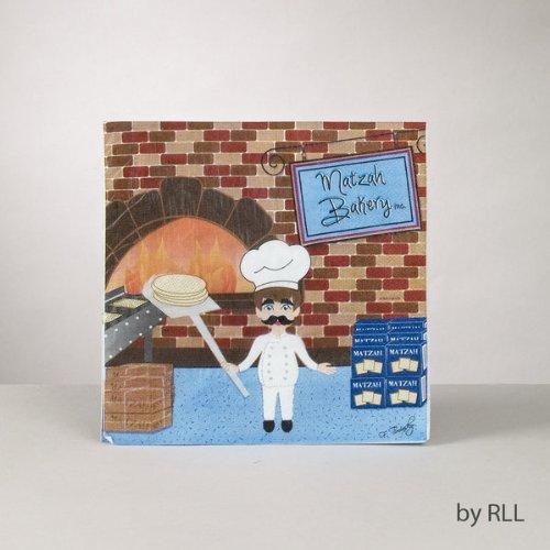 Matzah Bakery Luncheon Napkins - 16/package