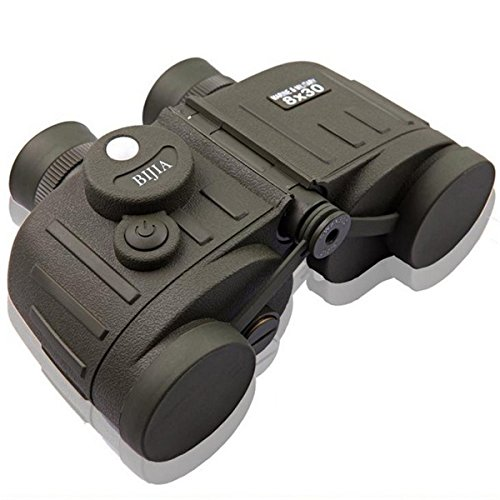 8X30 Military Standard Binoculars With Compass