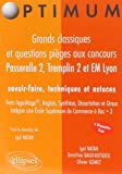 echange, troc Igal Natan, Collectif - Passerelle 2, Tremplin 2 et EM Lyon : Grands classiques et questions pièges