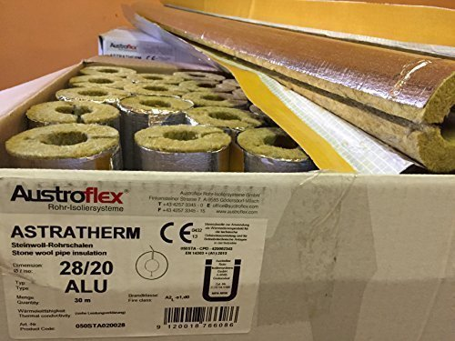 austroflex-pipe-insulation-28-x-20mm-filled-with-box-30m-contains-pipe-bowls-foil-laminated-rock-woo