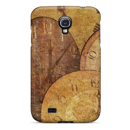 Jppyl605Gflic Anti-Scratch Case Cover Anne Marie Harrison Protective Clock Antique Arrow Texture Case For Galaxy S4 back-786945