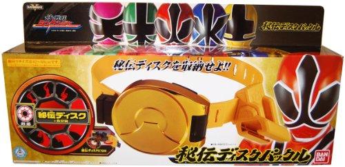 Power Rangers Shinkenger Toy Hidden Disk Belt Samurai