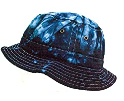Colortone Bucket Hats Adult Blue Ocean