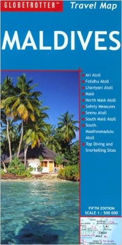 Maldives Travel Map (Globetrotter Travel Map) written by Globetrotter