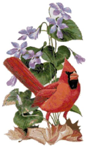 Illinois State Symbol Counted Cross Stitch Pattern