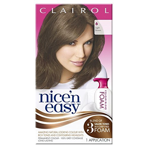 clairol-nicen-easy-colour-blend-foam-permanent-hair-dye-light-brown-6-by-nicen-easy