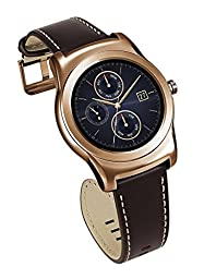 LG Watch Urbane Wearable Smart Watch - Pink Gold (International Version No Warranty)