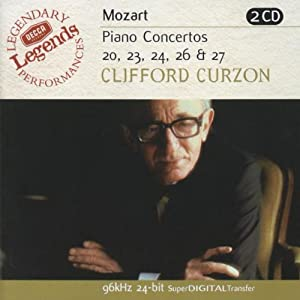 Mozart: Piano Concertos 20, 23, 24, 26 & 27