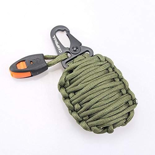 Campsnail-17-Accessories-Emergency-Survival-Pod-Kit-wrapped-in-550lb-Survival-Grenade-Cord-For-Emergencies