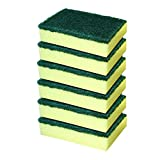 #7: Cello Kleeno Sponge Scrub Pad (Green and Yellow, Pack of 6)
