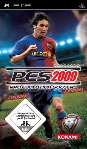 PES 2009 - Pro Evolution Soccer, Sony PSP