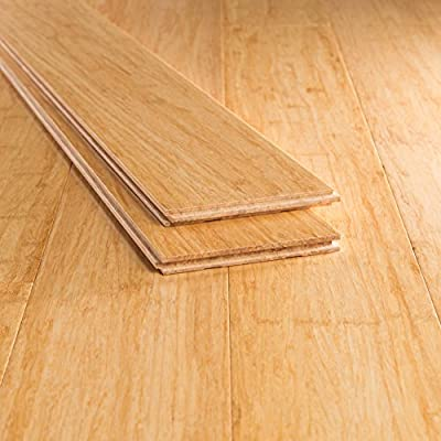 Bamboo Flooring Natural Wide Plank Strand