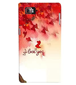 Fuson Premium Eternal Love Printed Hard Plastic Back Case Cover for Lenovo Vibe Z2 Pro K920