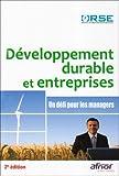 echange, troc ORSE - Développement durable et entreprises : Un défi pour les managers