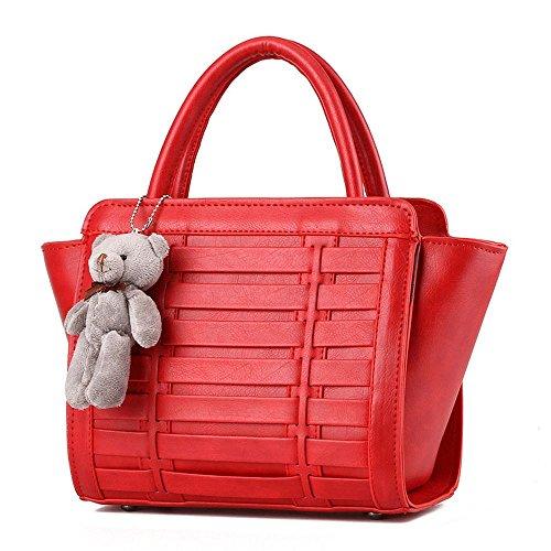 koson-man-femme-vintage-ours-decorer-sacs-bandouliere-sac-a-poignee-superieure-sac-a-main-rouge-roug