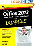 Office 2013 For Dummies: Word, Excel,...
