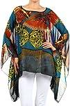 Kiwi Co. Women's Monarch Chiffon Prin…