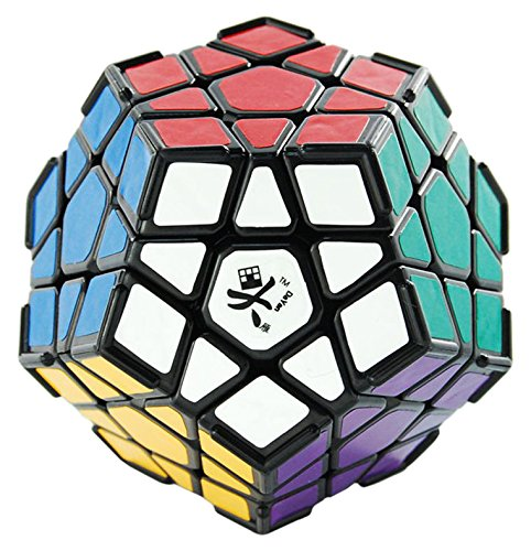 DaYan 1 X Megaminx I with Ridges Puzzle, Black