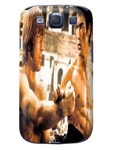 Fashion E-Mall Coolest TPU Logo case Top (Bruce Lee) Samsung Galaxy s3 Designer Cover