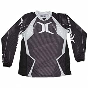 Invert ZE Prevail Series Paintball Jersey - Silver - 3X-Large