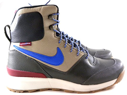 Nike Stasis Acg Hi-Top Bamboo Brown/Blue/Black Men'S Hiking Trailing Boots Shoes 616192 201 (9)