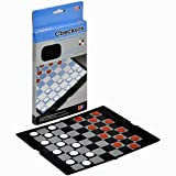 Travel Magnetic Checkers Wallet Set - 64 Playing Field