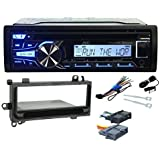 Package: JVC KD-R85MBS Marine CD MP3 Receiver With Bluetooth, Android/iPhone/XM Receiver + Metra 99-6000 Jeep...