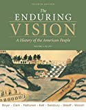 Bundle: The Enduring Vision, Volume I: To 1877, 7th + WebTutor(TM) on Blackboard Printed Access Card (1111085412) by Boyer, Paul S.