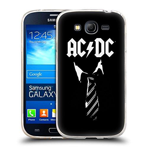 Ufficiale AC/DC ACDC Cravatta Iconico Cover Morbida In Gel Per Samsung Galaxy Grand Neo