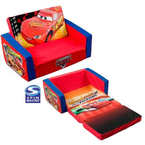 Disney Pixar Cars Theme Toddler Flip Out Sofa Couch Bed