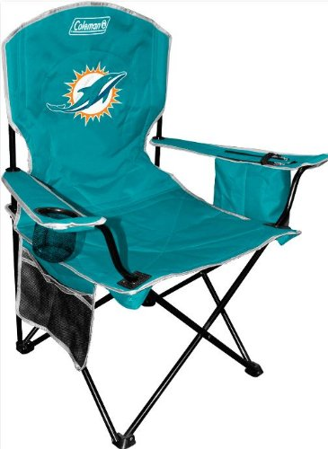2013 Logo Miami Dolphins Cooler Quad Chair at Amazon.com