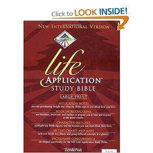 NIV Life Application Study Bible, Large Print Bruce B. Barton