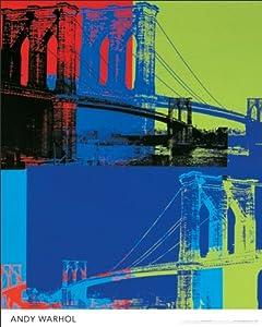 Andy Warhol ( Brooklyn Bridge) Poster 16x20