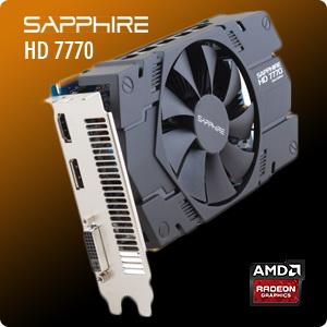 SAPPHIRE HD 7770 1GHZ