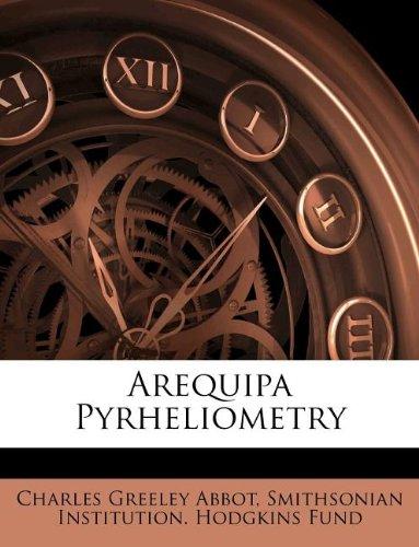 Arequipa Pyrheliometry