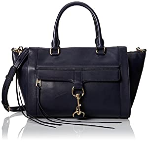 Rebecca Minkoff Bowery Satchel, Ink, One Size