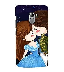 Cute Love Couple 3D Hard Polycarbonate Designer Back Case Cover for Lenovo Vibe K4 Note :: Lenovo K4 Note A7010a48 :: Lenovo Vibe K4 Note A7010 :: Lenovo Vibe X3 Lite